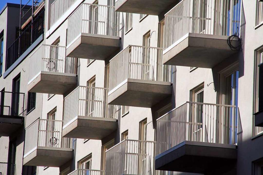 Haben zuletzt kräftig zugelegt: die Immobilienpreise.    Foto: Lothar Ferstl (dpa)