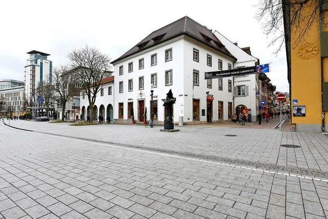 Das Freiburger Rotteckhaus ist vorübergehend vermietet