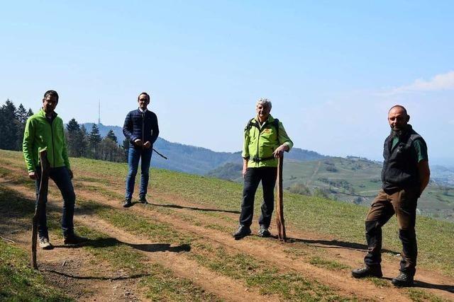 Besucher der Naturschutzgebiete am Kaiserstuhl sollen die Wege nicht verlassen
