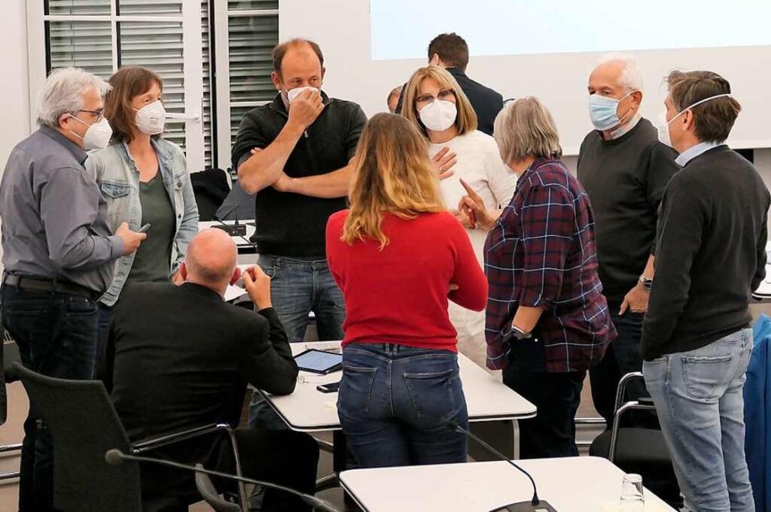 Die verhakte Diskussion führte zu eine...nterbrechung der jüngsten Ratssitzung.  | Foto: Hans-Peter Müller