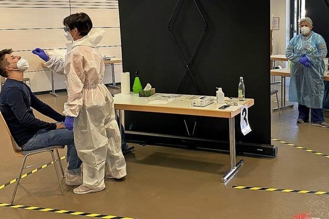 Corona-Teststation nun auch in Niederhof