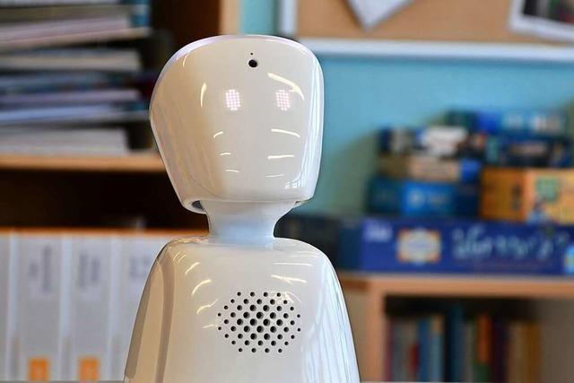 Ein norwegischer Roboter hilft krankem Schüler aus der Isolation