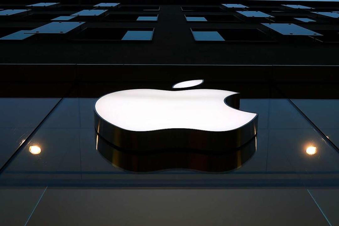 Apple ist eine der wertvollsten Marken der Welt.     Foto: Matthias Schrader (dpa)