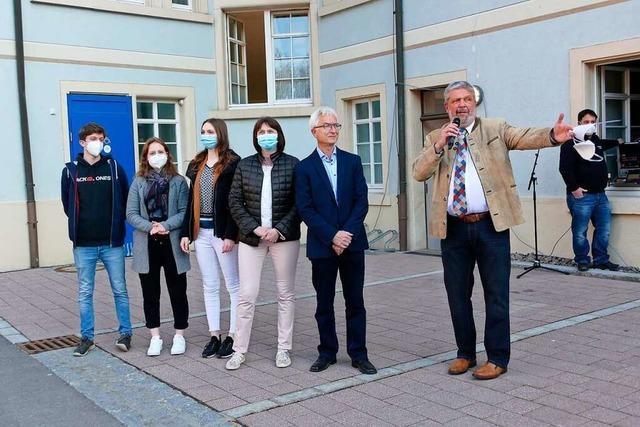 Deutlicher Sieg für den neuen Bürgermeister von Bonndorf Marlon Jost