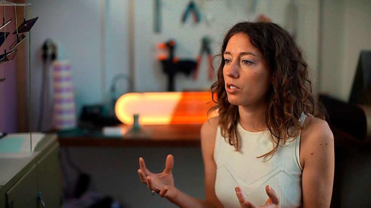 Eine Frau mit vielen tollen Ideen:  Die Solardesignerin Marjan van Aubel  | Foto: Dettmer-Finke