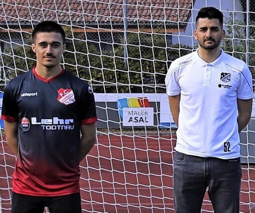 Nun Seite an Seite: Yasin Demirci (lin... Ismail, künftig spielender Co-Trainer    Foto: Privat