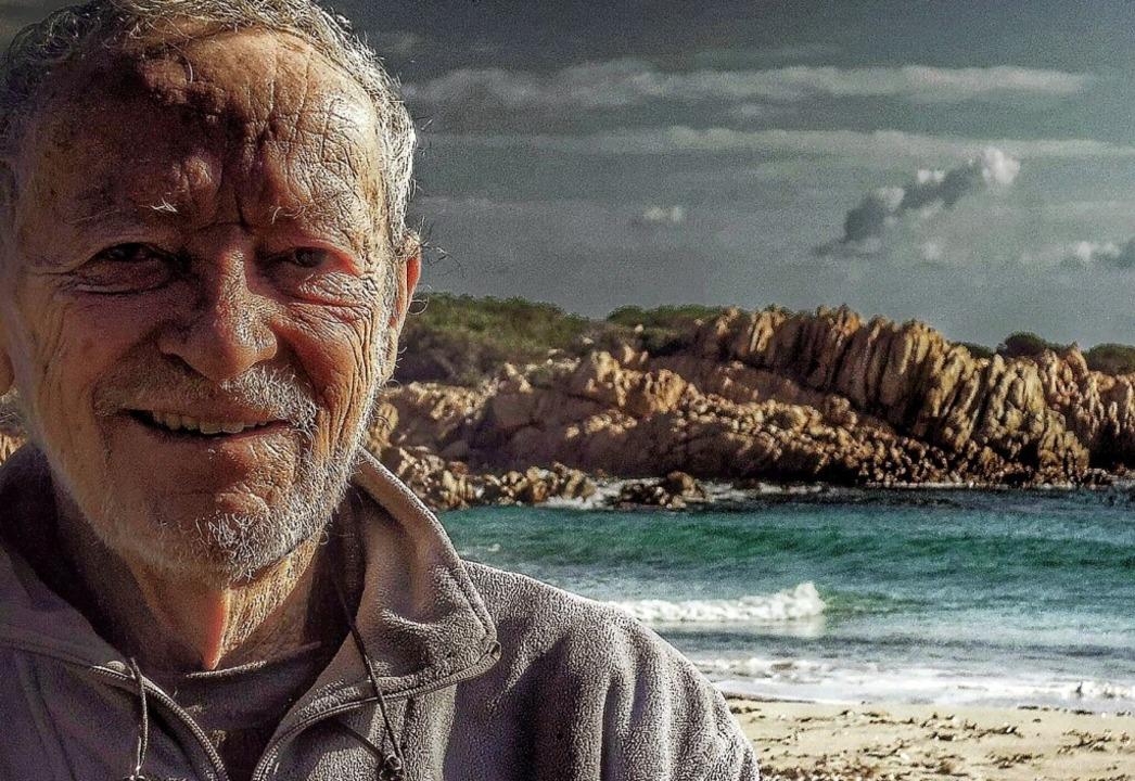 32 Jahre ganz bewusst einsam und allein auf einer Insel: Mauro Morandi  | Foto: Privat (dpa)
