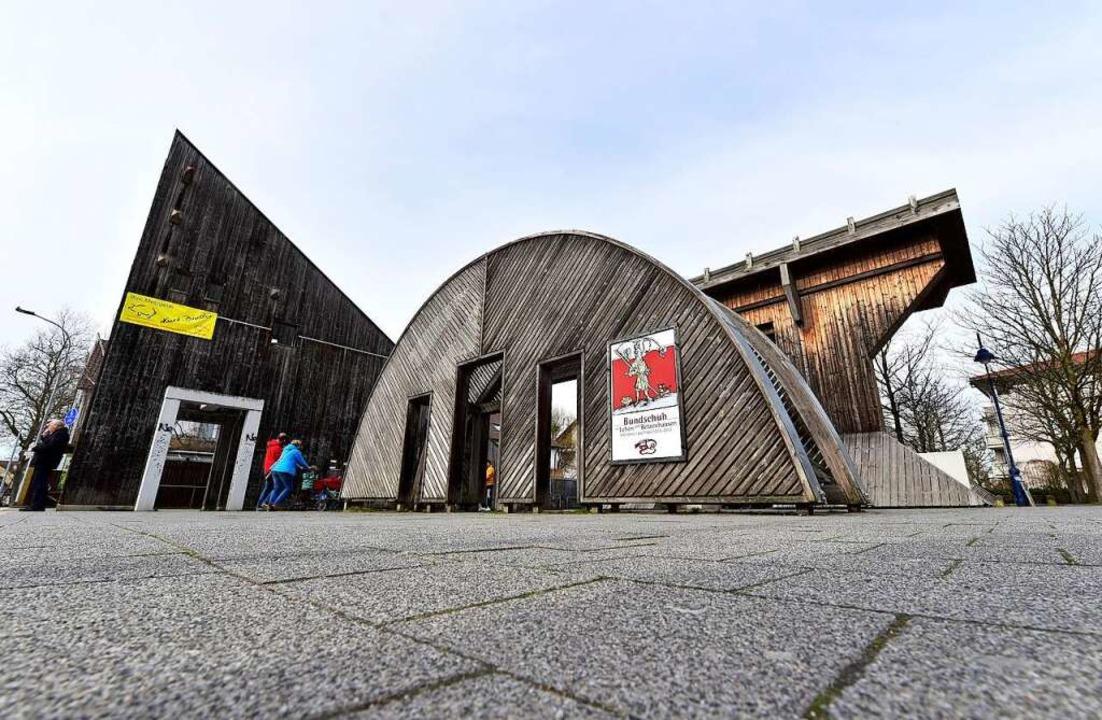 So sah der Platz in der hölzernen Vollversion aus (Archivbild von 2017).    Foto: Thomas Kunz