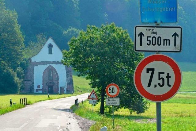 Verfahren zur Sanierung der Kreisstraße im Tennenbachtal nun online
