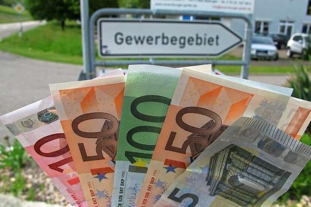 Weil am Rhein hat wohl deutlich höhere Gewerbesteuereinnahmen