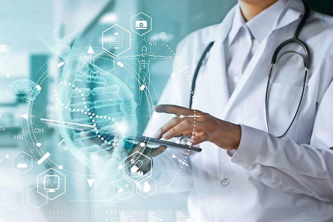 Laborwerte,  Diagnosen, Therapieempfeh... Patientenakte läuft all das zusammen.  | Foto: pinkeyes/ipopba  (stock.adobe.com)