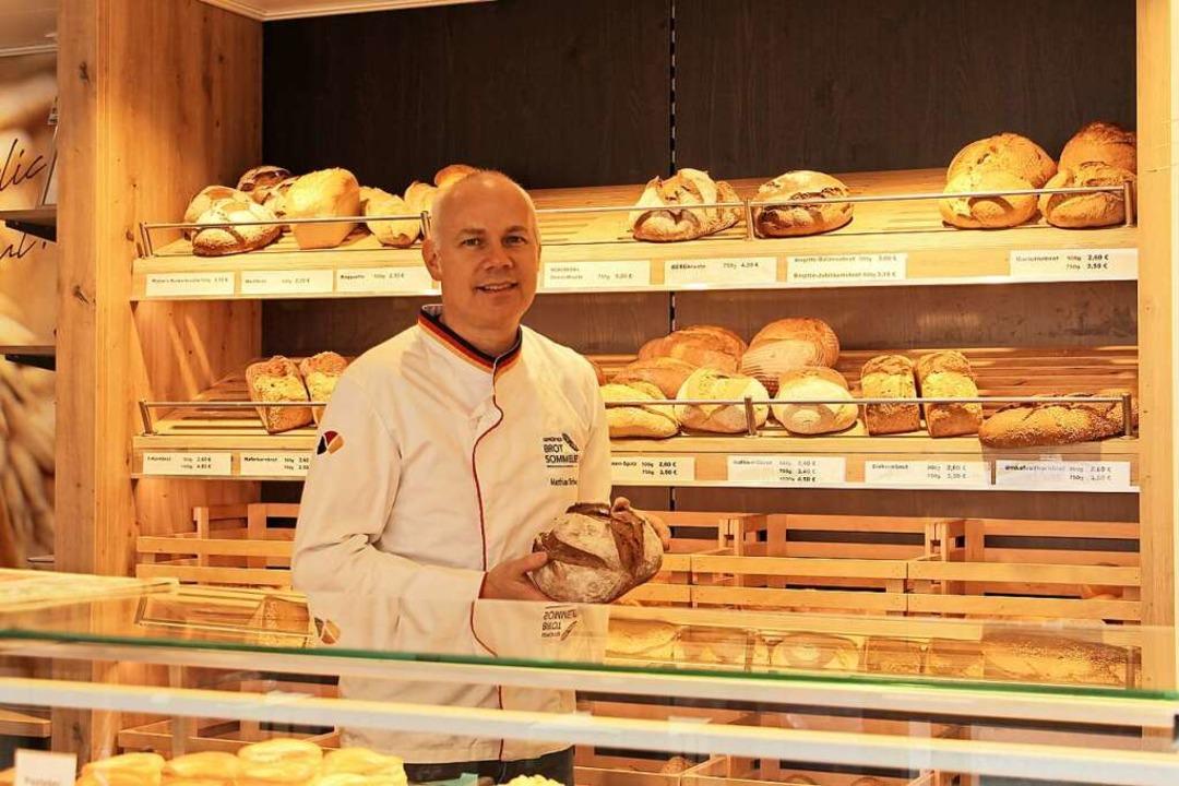 Experte für Brot: Matthias Schwehr  | Foto: Ruth Seitz