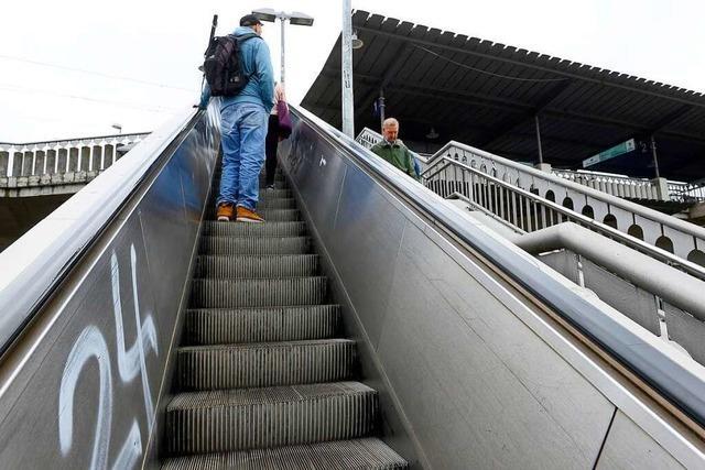 Sexuelle Belästigung auf der Rolltreppe am Hauptbahnhof