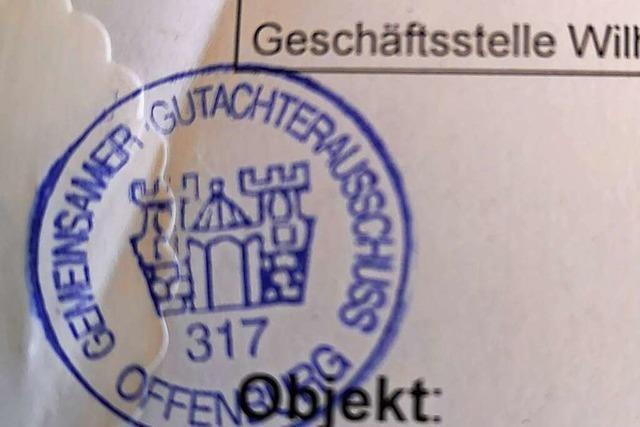 Der Offenburger Gutachterausschuss schätzt auch bald den Verkehrswert von Immobilien im Kinzigtal