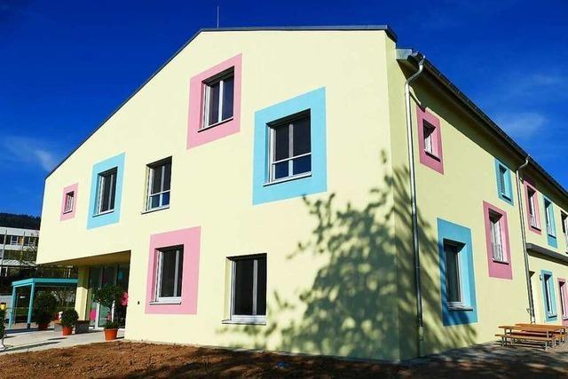 So sieht der neue Kindergarten St. Christophorus in Bad Säckingen von innen aus