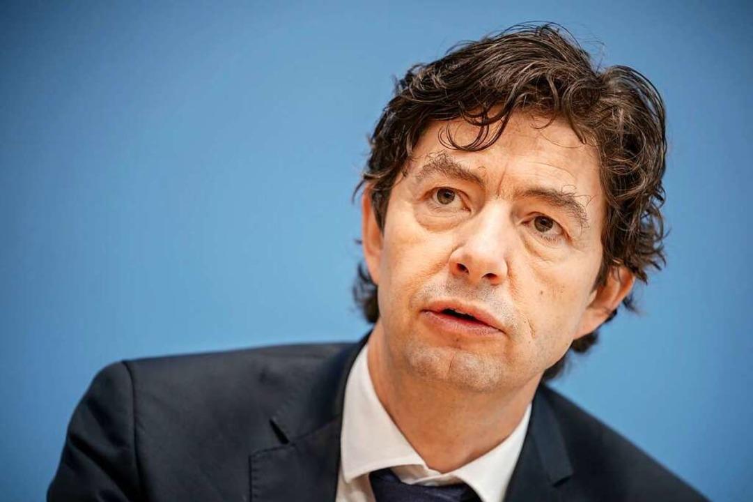 Christian Drosten, Direktor des Instituts für Virologie an der Berliner Charité  | Foto: Michael Kappeler (dpa)