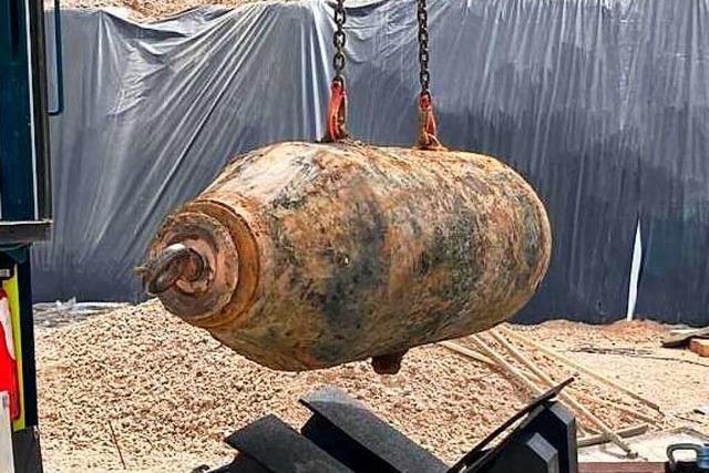 Drei Bomben in drei Jahren – so lief die Entschärfung am Hohbergweg in Lahr