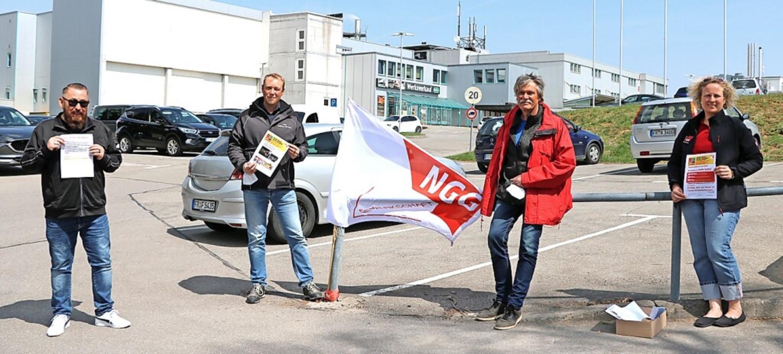 Sven Hildebrandt,  Christian Trompete,...te der Fleischwirtschaft zum Ausdruck.  | Foto: Martha Weishaar