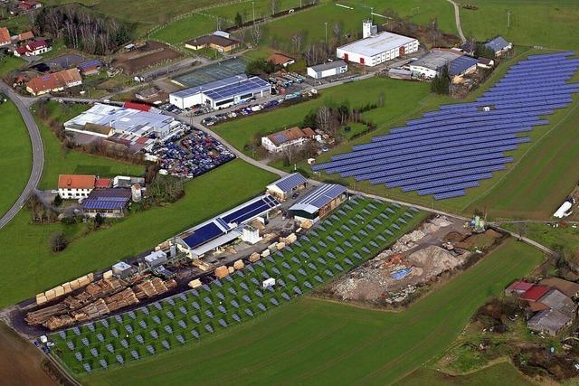 Solarpark in Hänner sorgt für Unmut