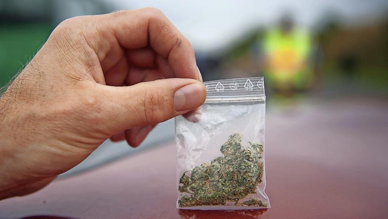 Mehr als die Polizei erlaubt: 70 Proze...nd damit zusammenhängende Substanzen.     Foto: Uwe Zucchi
