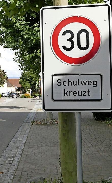 Zufrieden ist man in Hartheim mit den ... Erfolgen bei der  Verkehrsberuhigung.  | Foto: Frank Schoch