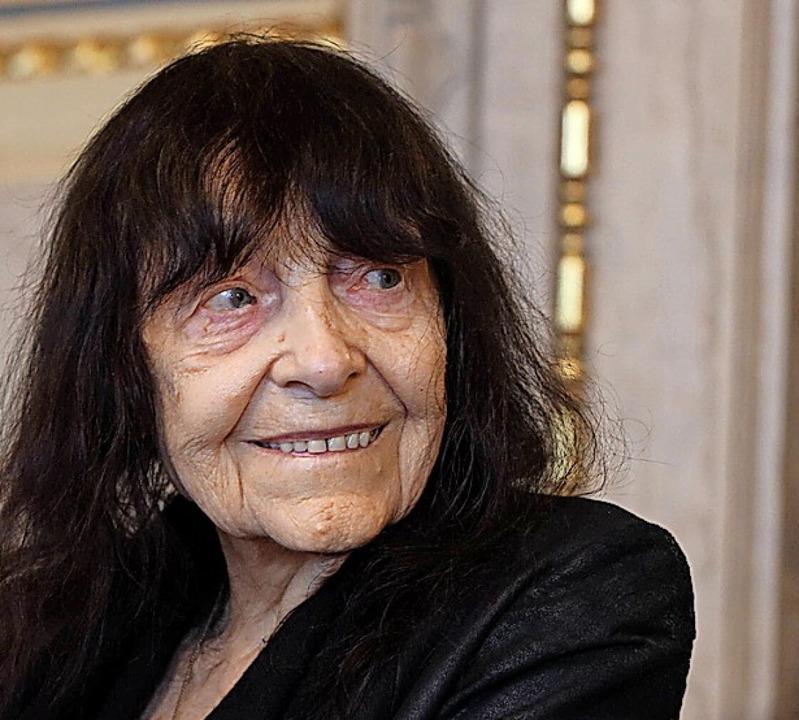 Friederike Mayröcker 2019  | Foto: SKATA (imago)