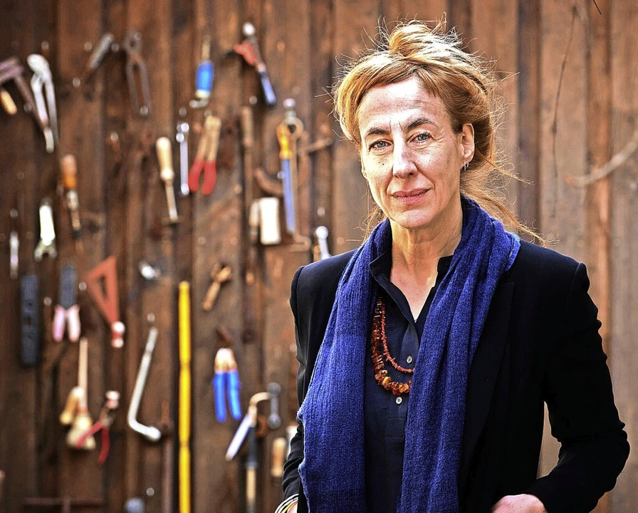 """Begibt sich in ihrem Roman """"Dahe... Berlin lebende Autorin Judith Hermann    Foto: Andreas Labes"""