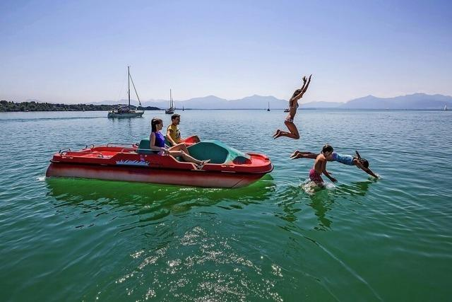 Bayrisches Wassersportparadies