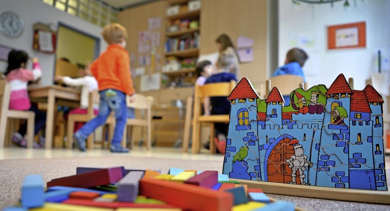Ab September wird es eine neue Kindergartengruppe in Willaringen geben.    Foto: Monika Skolimowska (dpa)