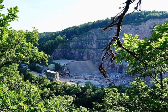 Umstrittene Planung im Tiefensteiner Steinbruch abgesegnet