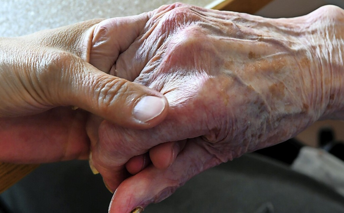 Ein ehemals bei der Bürgerstiftung ang...eger übt Kritik am Wehrer Pflegeheim.   | Foto: Holger Hollemann