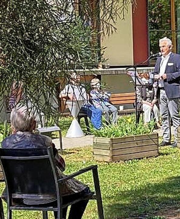 Viele Zuhörer fand Heimleiter Hans Kaufmann.     Foto: Jürgen Hässler