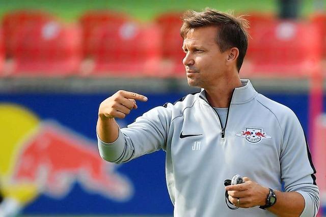 Jesse Marsch wird voraussichtlich neuer Trainer bei RB Leipzig