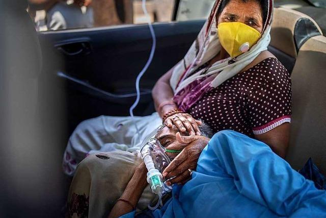 Fotos: Indien droht aufgrund der Pandemie der medizinische Kollaps