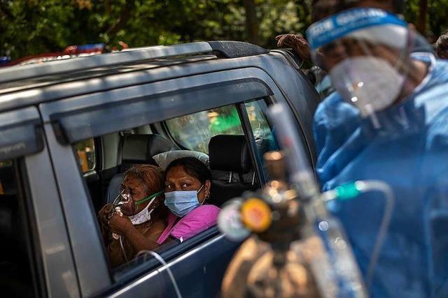 Ein Land erstickt: In Indien ist die Corona-Pandemie außer Kontrolle
