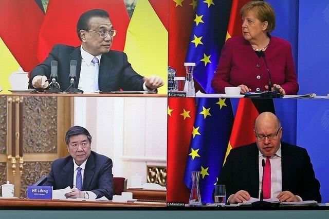 Reibereien bei Gesprächen mit China