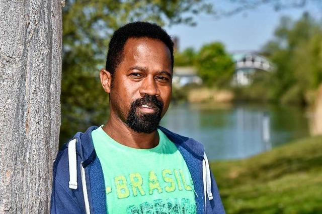 Manoel Correia de Jesus Filho ist in Sorge um die alte Heimat Brasilien