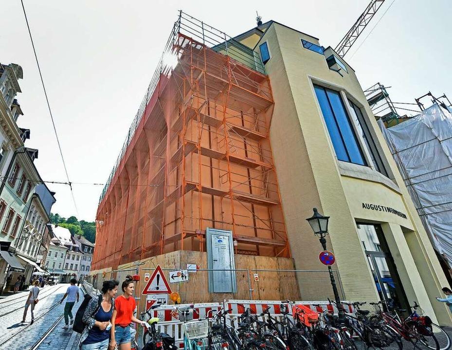 Das Geld für die Sanierung des Augustinermuseums wird gestreckt.  | Foto: Michael Bamberger