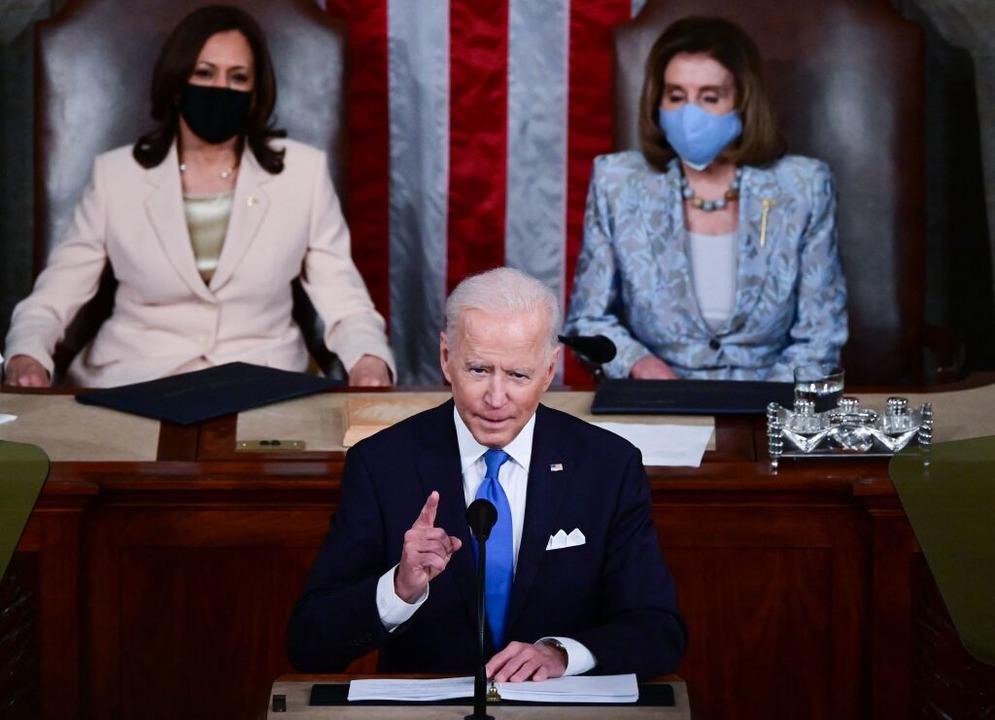 Präsident Biden: Müssen beweisen, dass Demokratie funktioniert  | Foto: JIM WATSON (AFP)