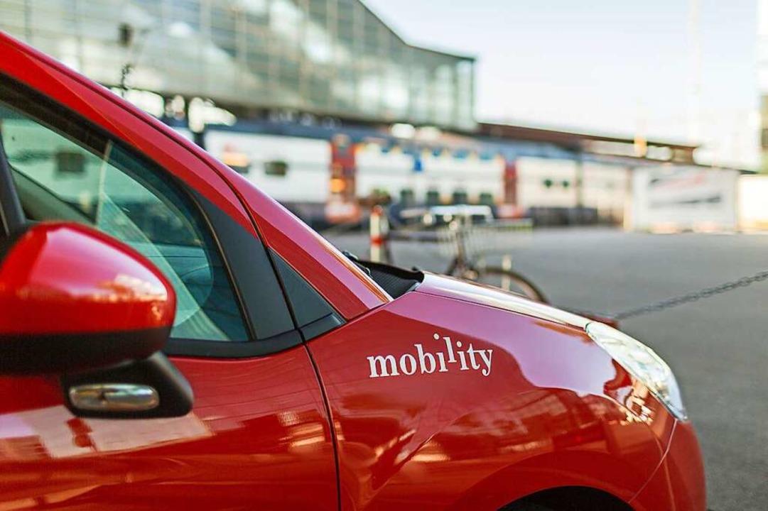 Kombinierte Mobilität, die die Bahn un...leih, ist eine Option für die Zukunft.    Foto: GAETAN BALLY
