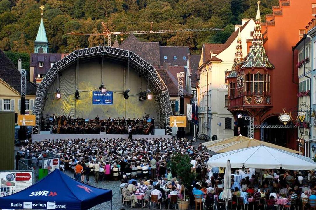 Gib es auf dem Münsterplatz bald mehr Konzerte? Archivbild.    Foto: Ingo Schneider