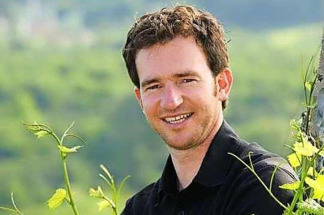 Tobias Köninger, Inhaber eines Weingutes in Kappelrodeck