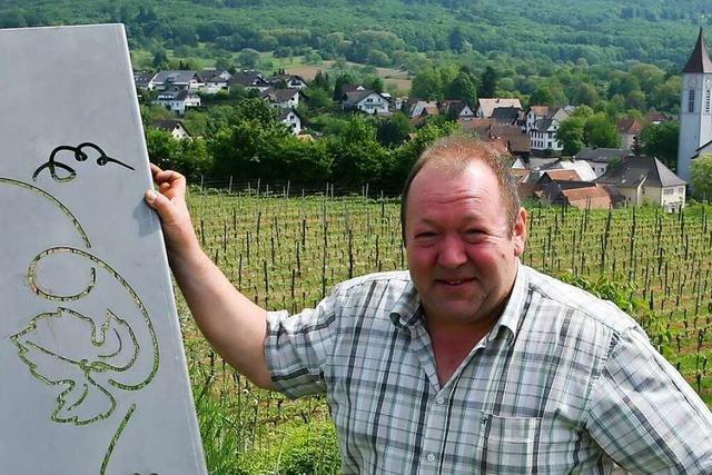 Stefan Kohler, Winzer und Ex-Vorsitzender der WG Oberschopfheim