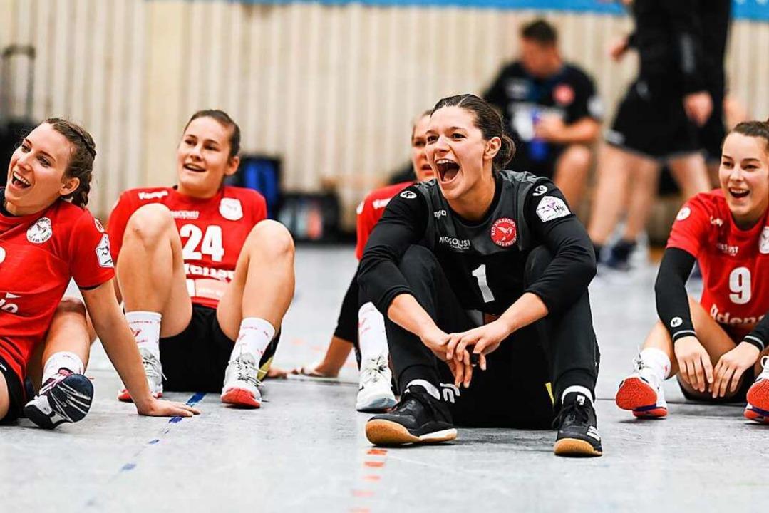 Geborgen in einem starken Team: Wiggen...ten Zweitliga-Saison der Red Sparrows.  | Foto: Patrick Seeger
