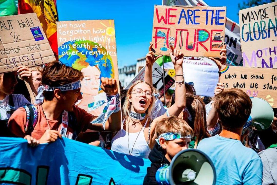 Klimademonstration Fridays for Future  | Foto: Marcel Kusch