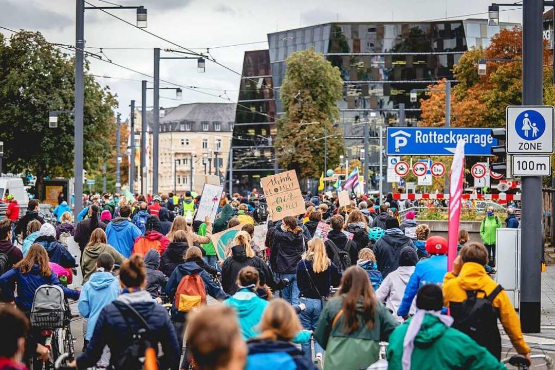 Fridays for Future in Freiburg  | Foto: Linus Ziegler