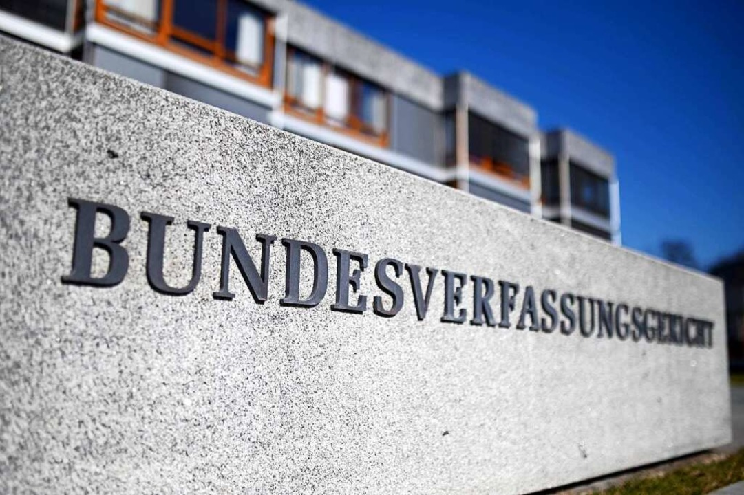 Grenzach-Wyhlen legt beim Bundesverfas...n Karlsruhe Verfassungsbeschwerde ein.  | Foto: Uli Deck (dpa)