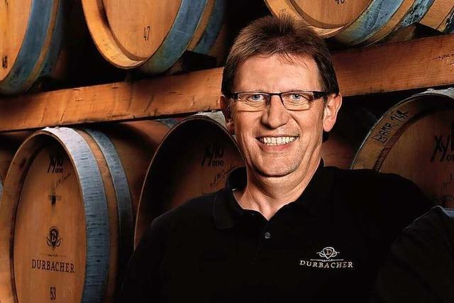 Rüdiger Nilles ist 1. Kellermeister der Durbacher Winzergenossenschaft