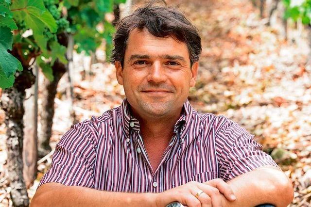 Andreas Laible junior vom gleichnamigen Weingut in Durbach