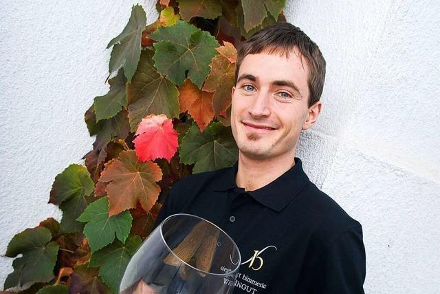 Thomas Hirt, Kellermeister beim Weingut Siegbert Bimmerle in Renchen-Erlach